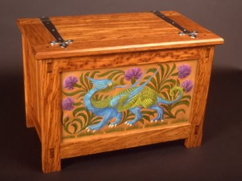 The Little Green Dragon Chest