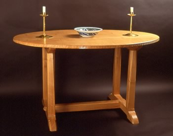Romney Green Dining Table